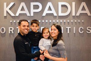 Dr. Ajay Kapadia and family